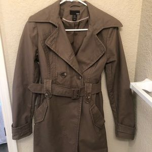H&M Brown French coat
